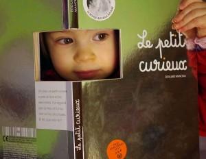 Le petit curieux - Edouard Manceau - Editions Milan (c)