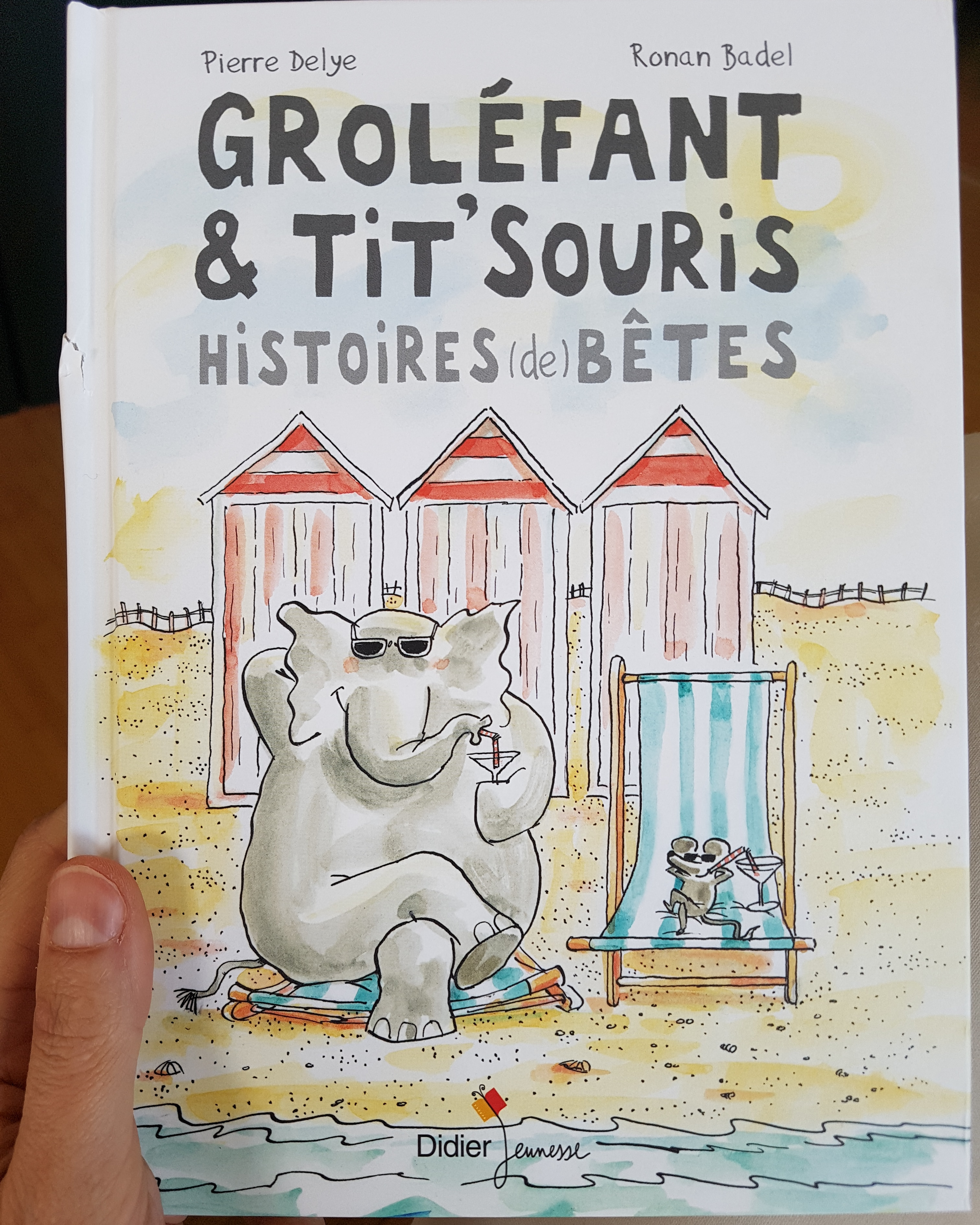 Groléfant Et Tit Souris Histoires De Bêtes La Licorne